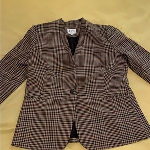 Jules and Leopold Blazer size 6 plaid